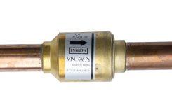 Zpětné ventily pro chlazení, tepelná čerpadla